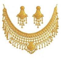 Heavy Bridal Gold Necklace Sets