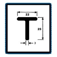 T Series Sections (1.036 Kg/M)