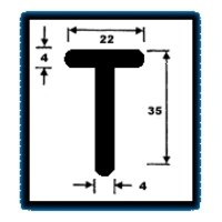 T Series Sections 1.612 Kg/M)