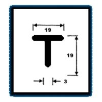 T Series Sections (0.839 Kg/M)