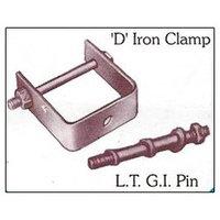 D Iron Clamp