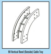 90 Vertical Bend (Outside) Cable Tray