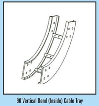 90 Vertical Bend (Inside) Cable Tray