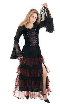 Gothic Black Tops