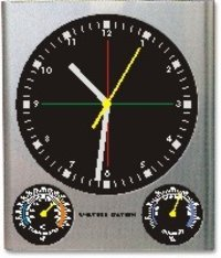 Wall Mount Weather Station Clock
