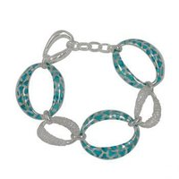 Cubic Zirconia Bracelet With Green
