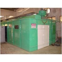 Side Draft Water Wash Pressurised Booth