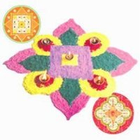 Decorative Rangoli Stickers