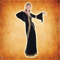 Designer Velvet Ladies Full Dress