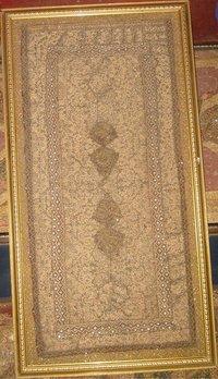 Indian Wall Hanging Zardosi Tapestry