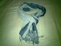 Double Fabric Stole