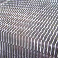 Ms Square And Round Gilled Tube Economizer