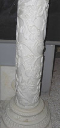 Carved Marble Pillar
