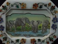 Art Marble Photo Frame