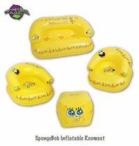 Sponge Bob Inflatable Room Set