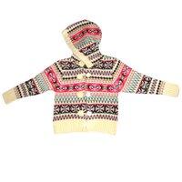 Girls Printed Wool Sweater