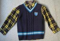 Cotton Sweater Vest
