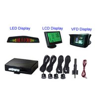 24V Wireless Truck Parking System With 4 Digital Sensors and LED/LCD/VFD Display