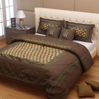 Brocade Bed Cover