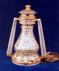 Marble Painting Lantern