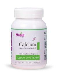Zenith Nutritions Calcium + Magnesium + Vitamin D - 180 Capsules