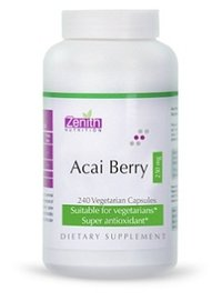 Zenith Nutritions Acai Berry - 250mg 240 Capsules