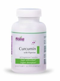 Zenith Nutrition Curcumin with Piperine - 60 capsules