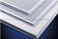 Square Aluminum Ceiling Tiles