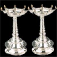 German Silver Diya