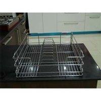 Modular Kitchen Steel Racks