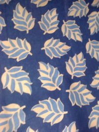 Blue Leaf Printed Quilt Covers