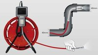 Pipe Plumbing Borescope Videoscope Endoscope Ndt