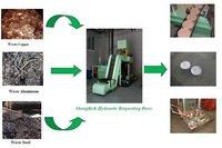 Hydraulic Metal Chips Briquetting Press