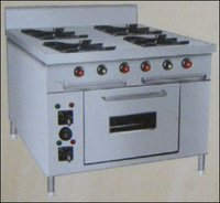 Four Burner Gas Stove With Oven