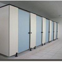 Modular Toilet Cubicles in HPL Sheets