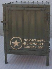 Vintage Industrial Bedside