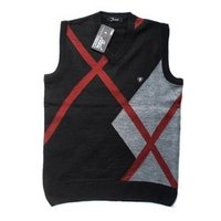 Sleeveless V-Neck Sweaters