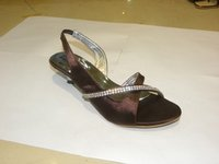 Embroidered Ladies Sandals (Kcpl-02)
