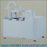 Portable Slow Suction Unit (Sm002)