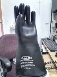 kavach seamless Electrical Hand Gloves