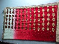 Embroidery And Print Job Work On Sarees