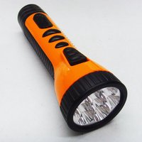 Rechargeable Plastic LED Flashlight Torch