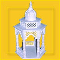 White Marble Stones Temple