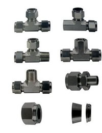 Industrial Compression Tube Fittings