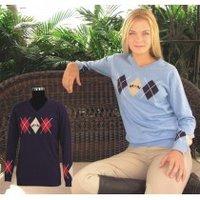 Sporty V-Neck Sweater
