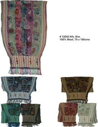 Embroidered Ladies Shawls
