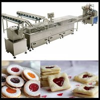 Cookies Sandwiching And Wrapping Machine