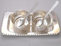 Silver Plated Gift Articles Set