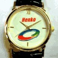 Men Round Dial Wrist Watch