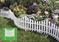 Wave Shape Garden Fence